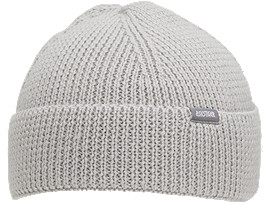 Front Top view of Beanie OP, GLACIER GREY