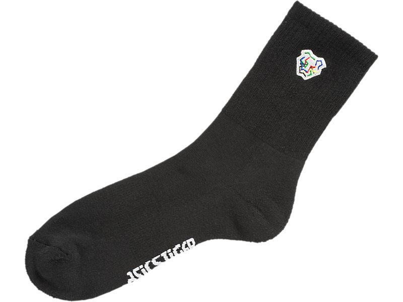 Digital Tiger Crew Socks PERFORMANCE BLACK 5 Z