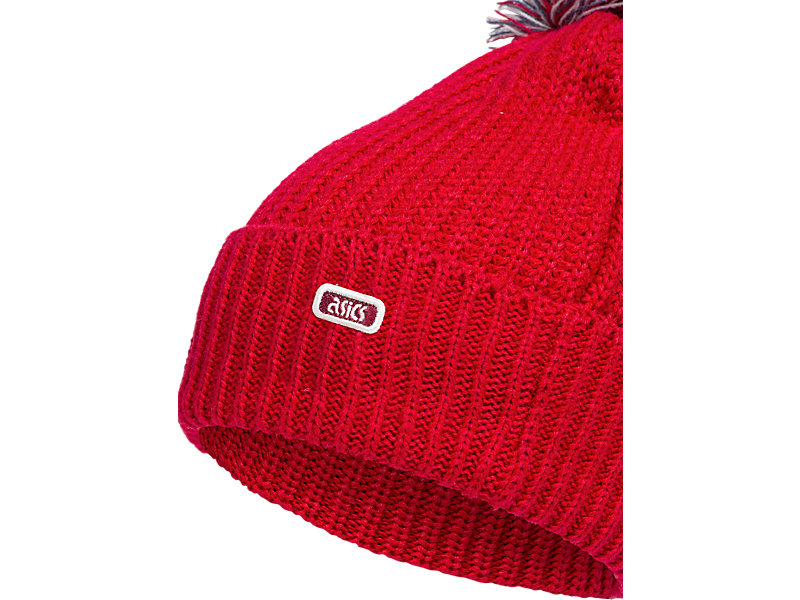 Pom Pom Beanie CLASSIC RED 9 Z