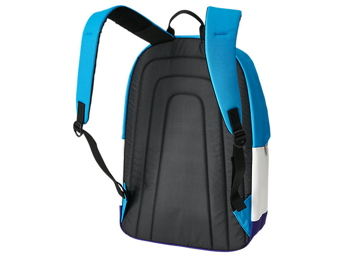 Back view of BL DAYPACK, DOLPHIN BLUE