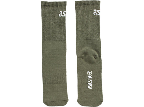 BIG LOGO CREW SOCKS MANTLE GREEN