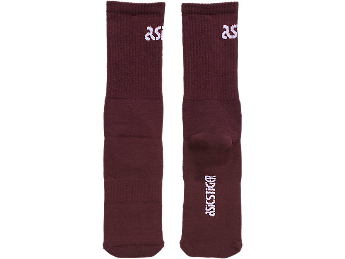 Front Top view of Big Logo Crew Socks