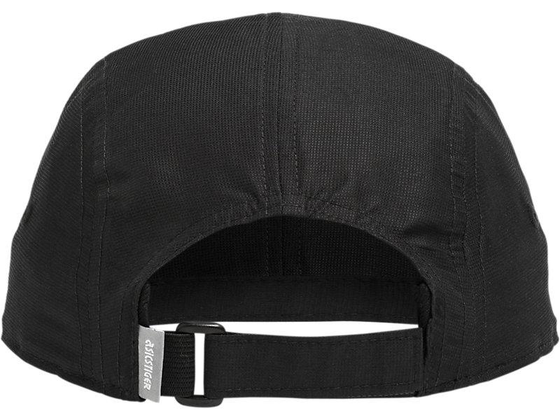 Five Panel Hat PERFORMANCE BLACK 5 BK