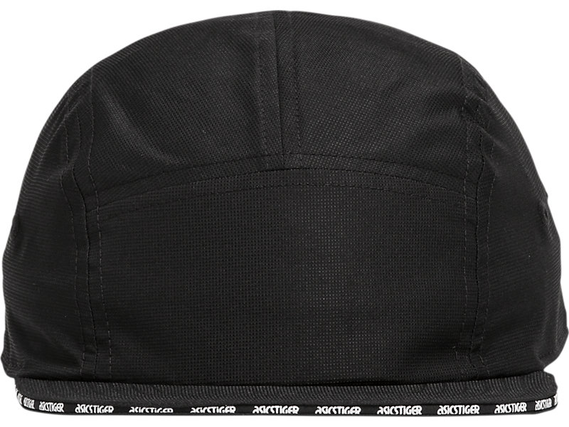 Five Panel Hat PERFORMANCE BLACK 1 FT