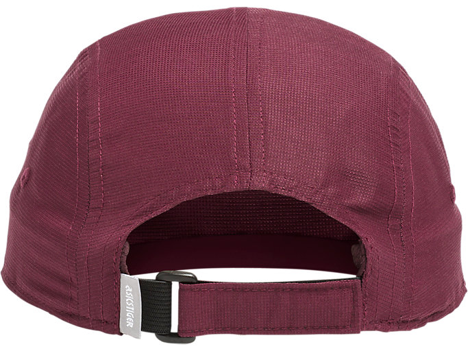 Back view of AHQ AT 5 PANEL HAT, DEEP MARS