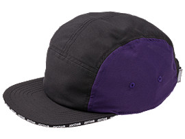 Front Top view of AHQ AT 5 PANEL CAP, GENTRY PURPLE