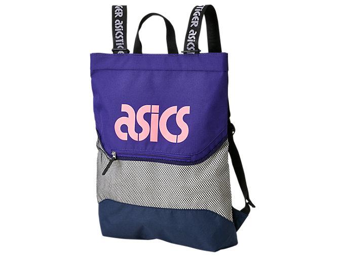 Front Top view of 2 WAY BAG, GENTRY PURPLE