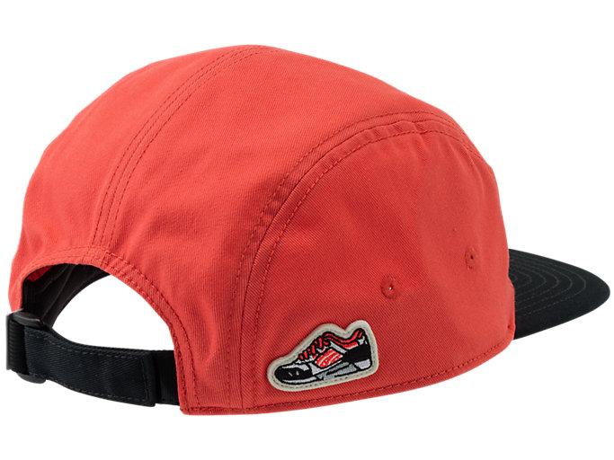 Back view of GEL-LYTE III CAP, PERFORMANCE BLACK