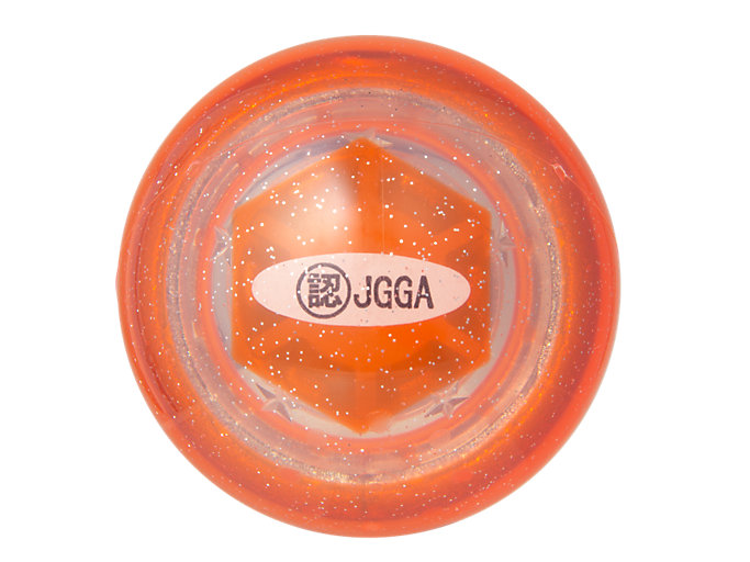 Back view of GG ハイパワーボール ストレートα, オレンジ