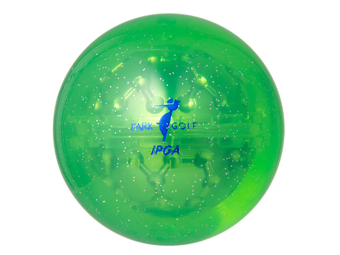 Back view of PG ハイパワーボール X-LABO ヘキサゴン, グリーン