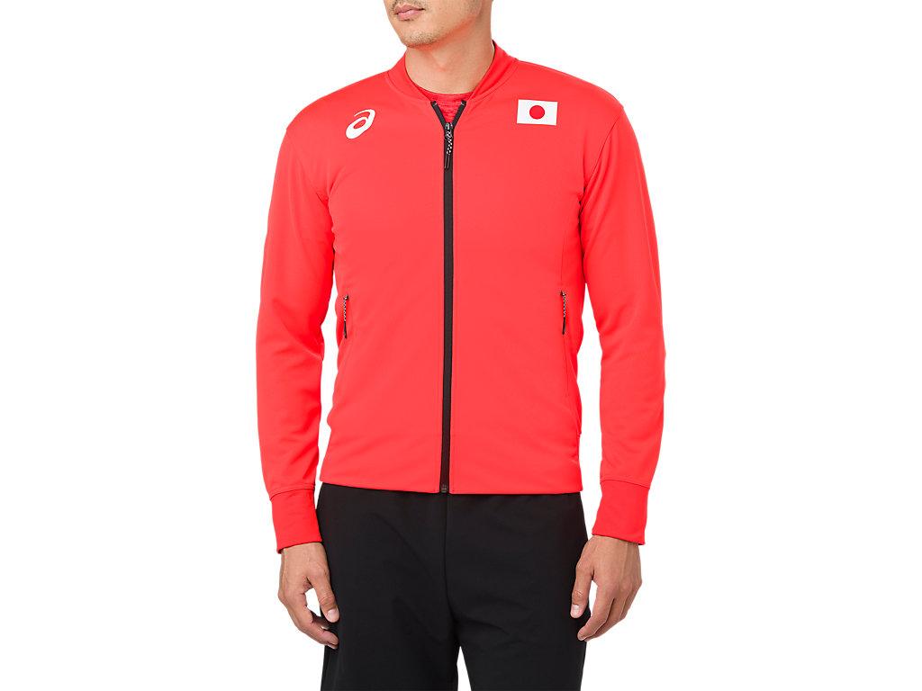 日本代表トラックジャケット:JPサンライズレッド