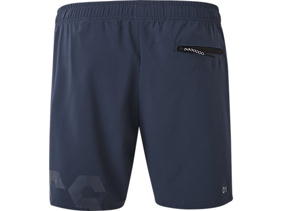 W'S GRAPHIC SHORTS DARK BLUE