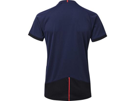 排球印花T恤 Peacoat