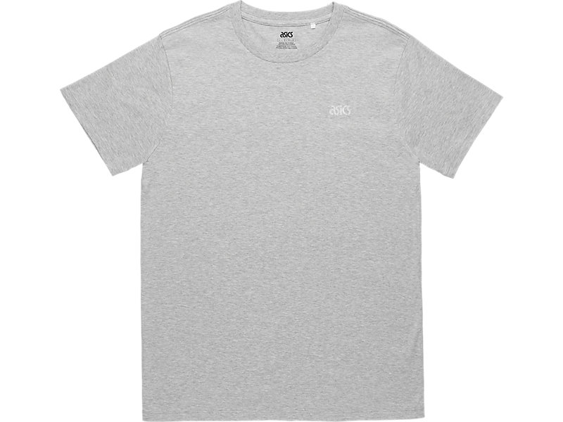 ASICS SMALL REFLECTIVE TEE Heather Grey 1 FT