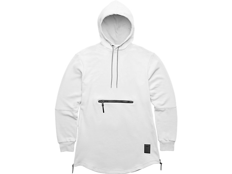 PREMIUM FLEECE HOODIE White 1 FT