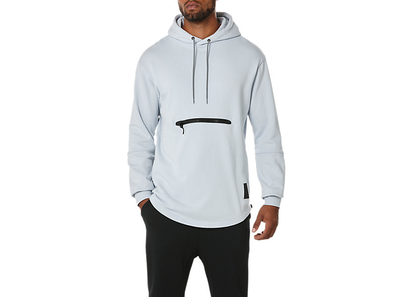 PREMIUM FLEECE HOODIE GREY 1 FT