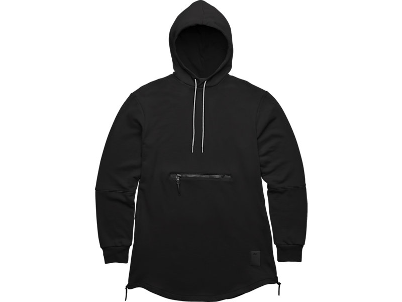 PREMIUM FLEECE HOODIE Black 1 FT