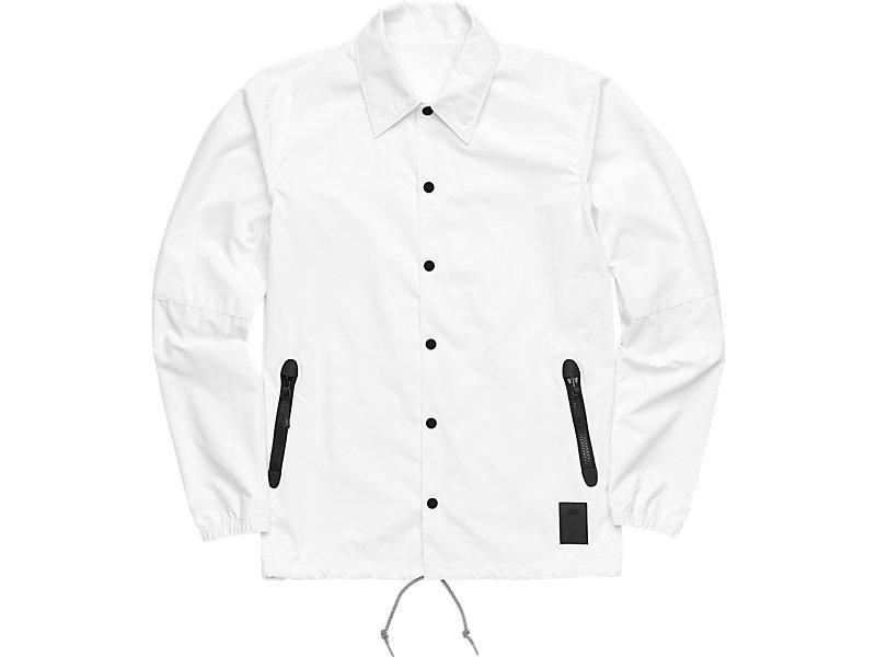 Coaches Jacket White 1 FT