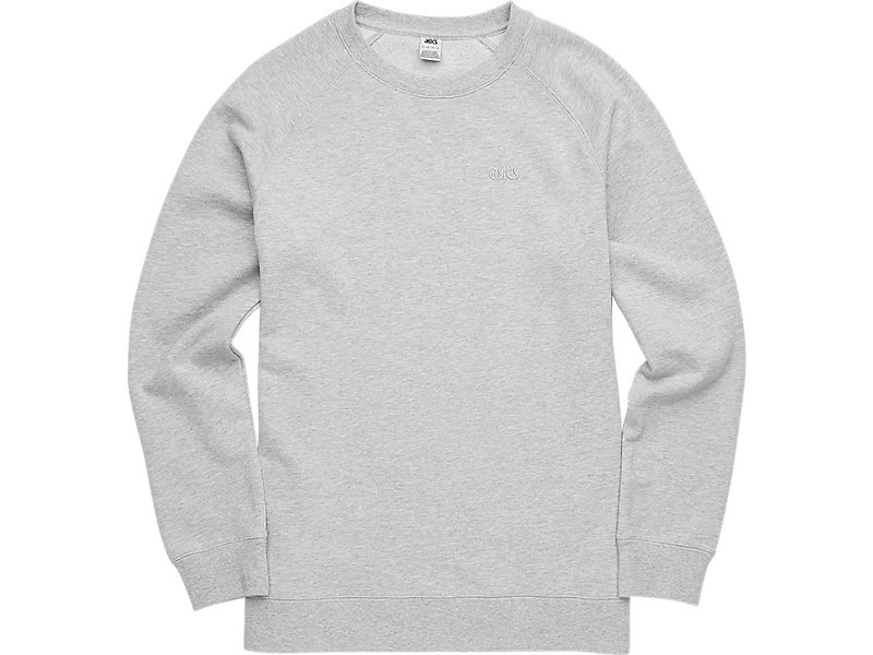 CLASSIC LS CREW Heather Grey 1 FT