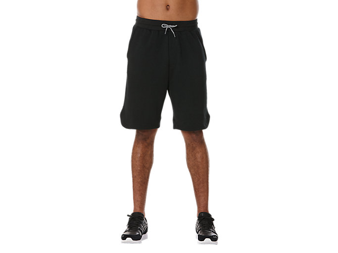 Front Top view of CLASSIC SHORT, BLACK