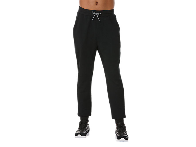Front Top view of CLASSIC JOGGER, BLACK