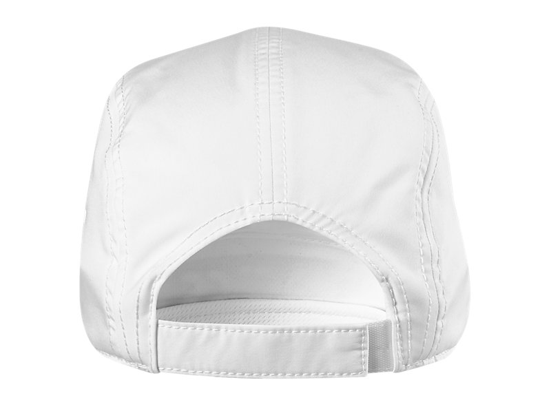 5 Panel Hat White 5 BK