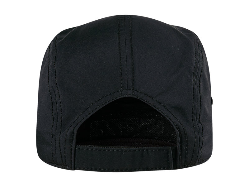 5 PANEL HAT BLACK 5 BK