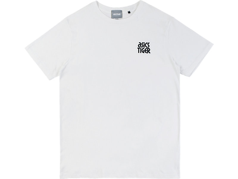 SMALL LOGO TEE WHITE 1 FT