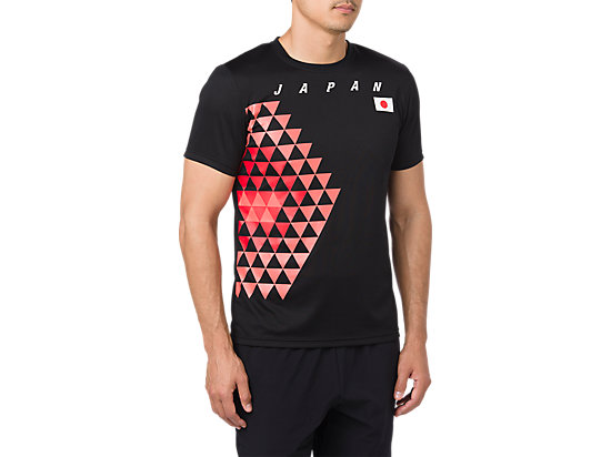日本代表応援Tシャツ, JPBlack