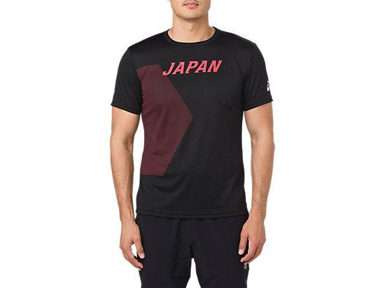 JAPANチームサポートTシャツ, JPBlack
