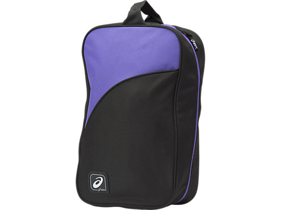 Shoe Bag (10L) Black/ Purple 3