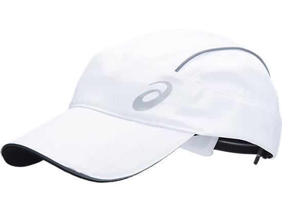 Mens Running Cap White 3