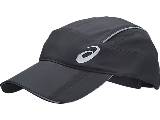 Mens Running Cap Black 3