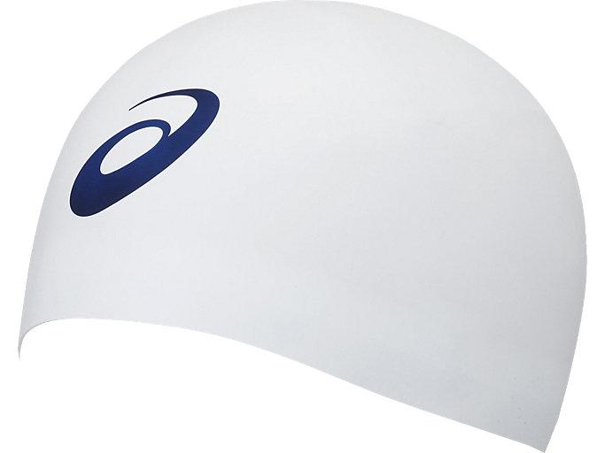 Front Top view of ドーム型シリコーンキャップ, ホワイト