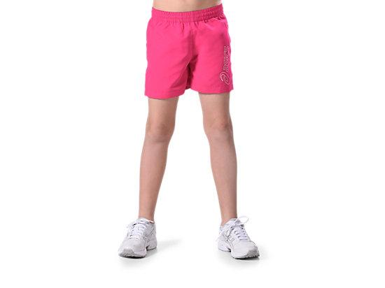 Youth Logo Short Ultra Pink 3