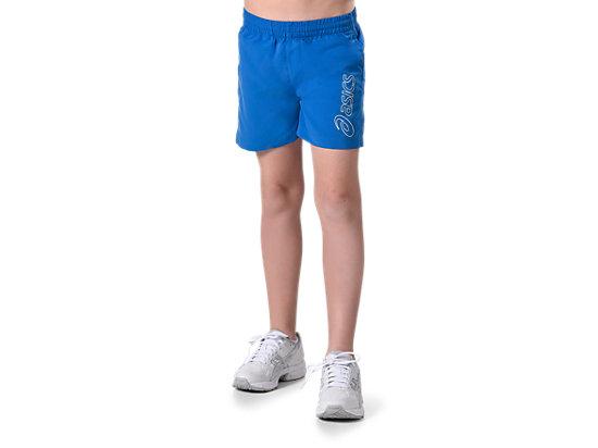 Youth Logo Short Asics Blue 3