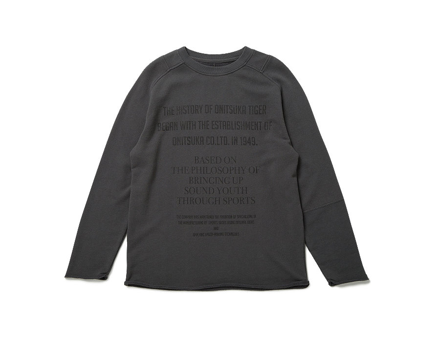 HISTORY PRINT SWEAT SHIRT
