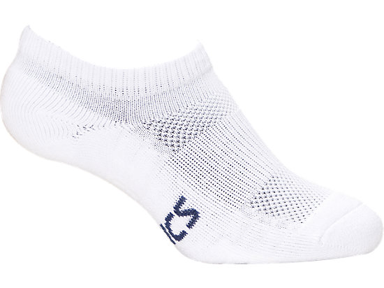Pace Invisible Sock - Solid White 3