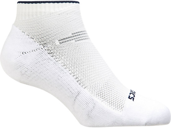 Netburner Low Sock White / Indigo Blue / Flash Coral 3