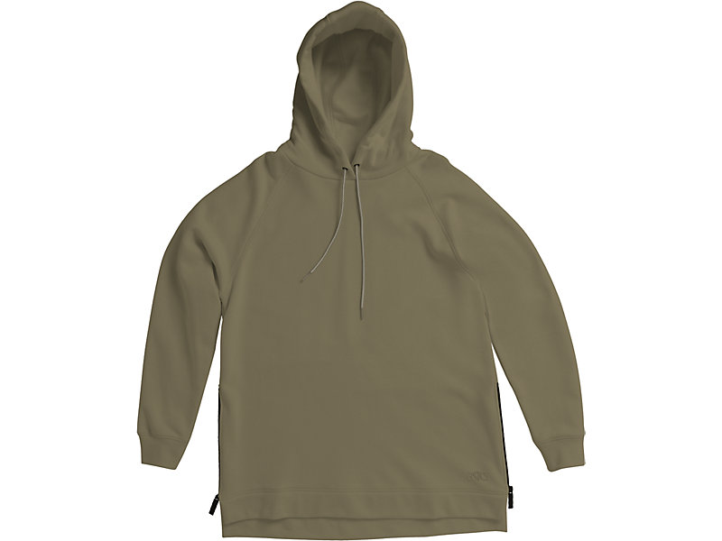 CLASSIC PULLOVER HOODIE Olive 1 FT