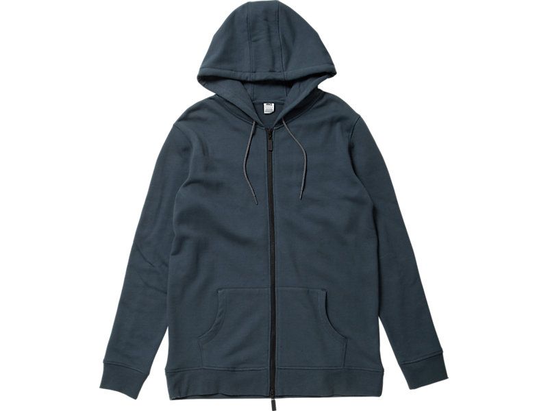 CLASSIC ZIP-UP HOODIE NAVY 1 FT