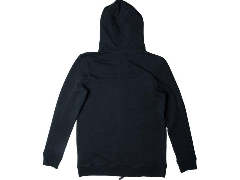 CLASSIC ZIP-UP HOODIE BLACK 5 BK