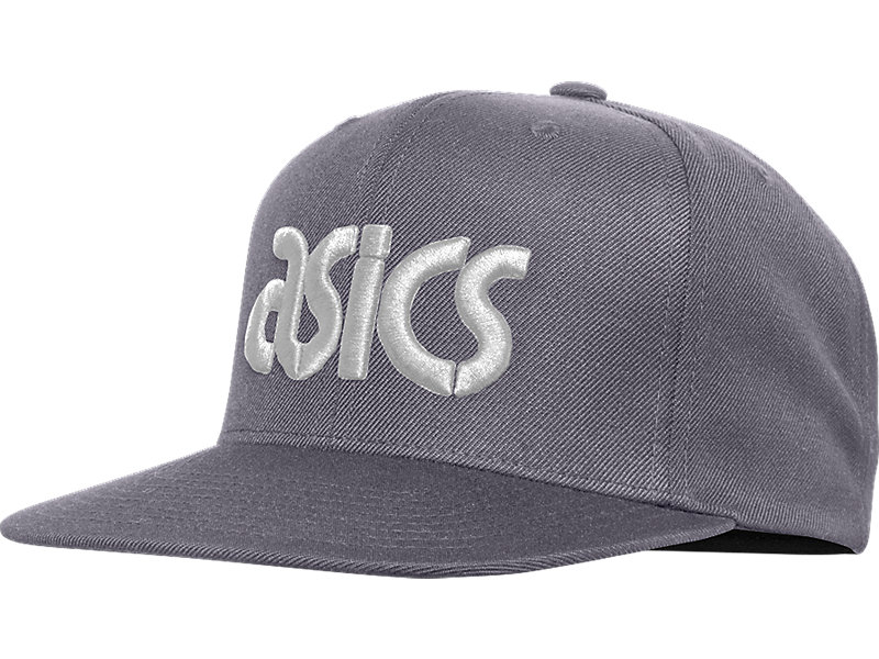 LOGO SNAP BACK Dark Grey/White 1 FT