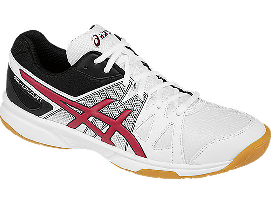 GEL-Upcourt White/Racing Red/Black 7