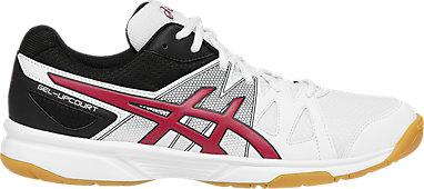 GEL-Upcourt White Racing Red Black 3 RT 44131aece3df7