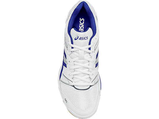 GEL-Rocket 7 White/ASICS Blue/Titanium 23