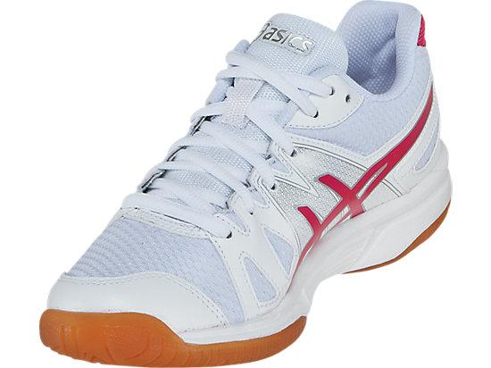 GEL-Upcourt White/Raspberry/Silver 7
