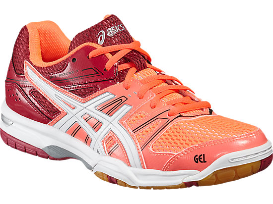 GEL-ROCKET 7 FLASH CORAL/WHITE/CERISE 7
