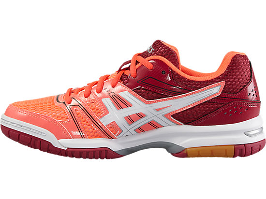 GEL-ROCKET 7 FLASH CORAL/WHITE/CERISE 11