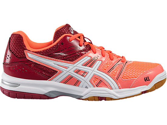 GEL-ROCKET 7 FLASH CORAL/WHITE/CERISE 3